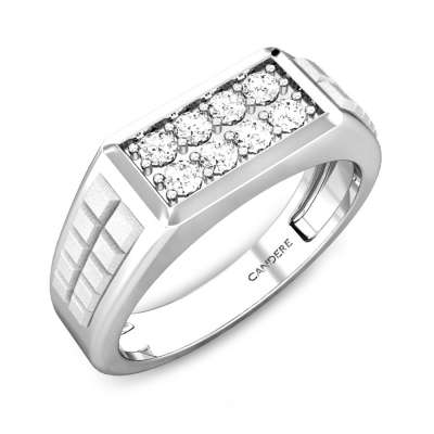 Emmet Platinum Diamond Ring
