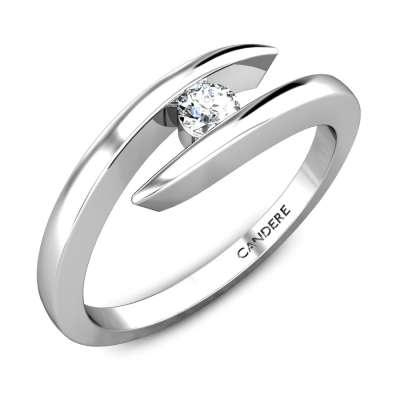 Ginevera Platinum Diamond Ring