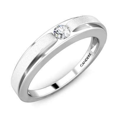 Pashan Platinum Diamond Ring