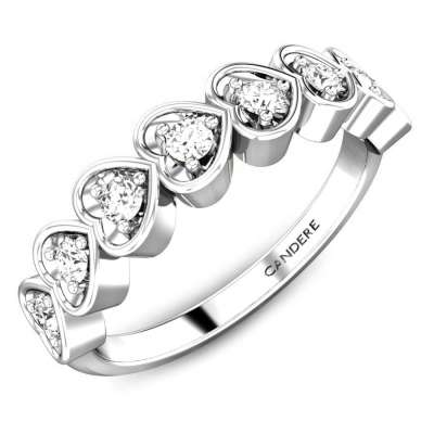Priyusha Platinum Diamond Ring