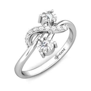 Luxury Miracle Plate Diamond Ring