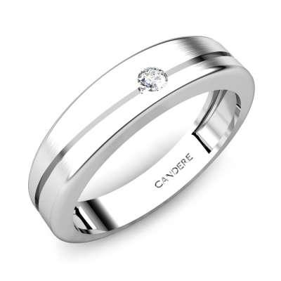 Abelard Diamond Wedding Band For Him