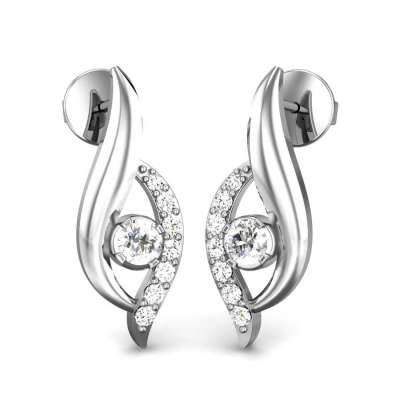 Angel Eye Diamond Earrings