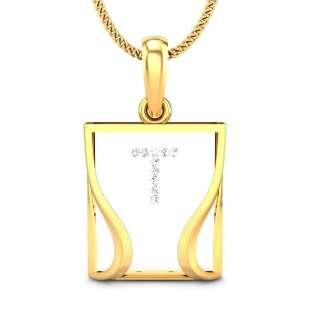 The Candere T Pendant