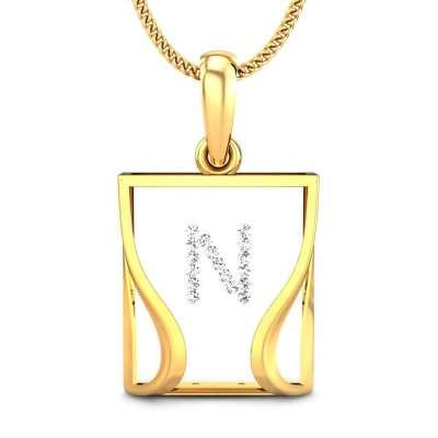 The Candere N Pendant