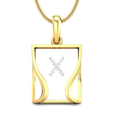 The Candere X Pendant
