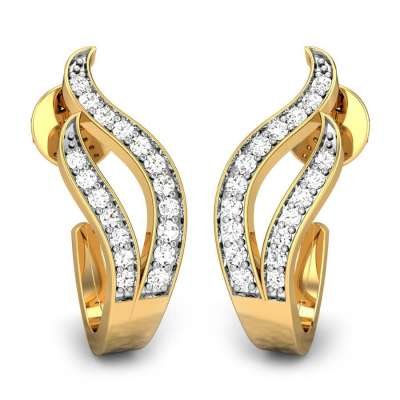 The Twin Flames Diamond Earrings