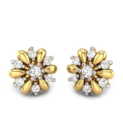 Pankhuri Diamond Earrings