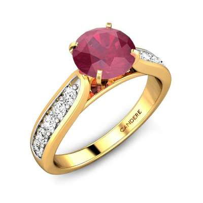 Royal Red Spinel 1.00ct Ring FS