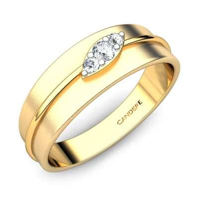 Peter Diamond Wedding Band For Him FS