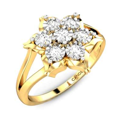 Edelweiss Miracle Plate Diamond Ring FS