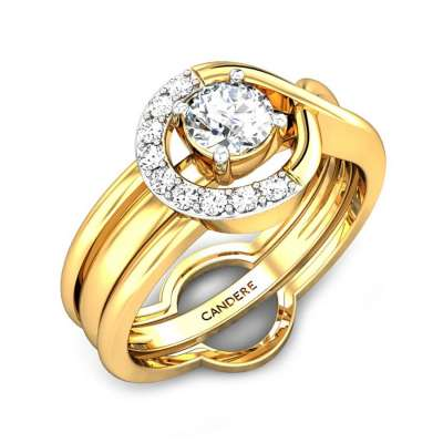 Complicated Love Wrap Diamond Ring