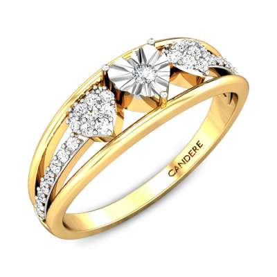 The Wedding Miracle Plate Diamond Ring FS
