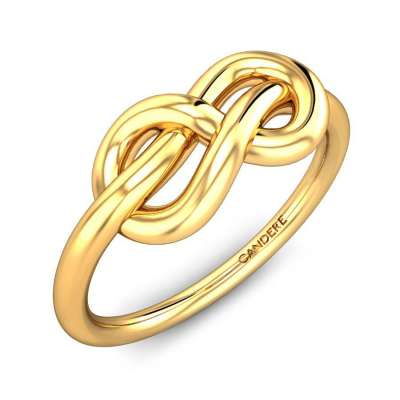 Caitlin Infinity Gold Ring FS