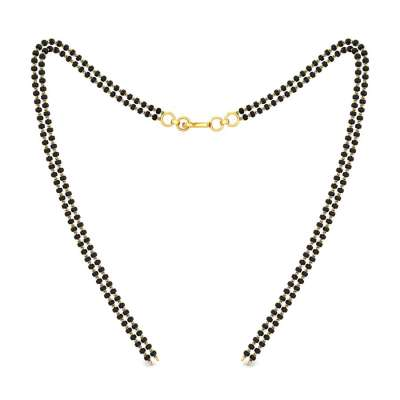 Mangalsutra Double Line Gold Chain FS