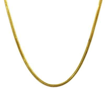 The Yellow Road Gold Chain